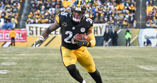 Steelers officially throwing all the pressure on Le'Veon Bell