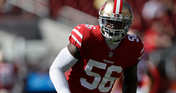 49Ers Linebacker Reuben Foster Charged With Domestic Violence