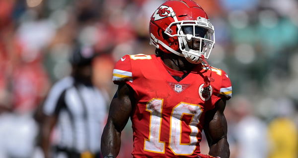 Chiefs' Tyreek Hill Under Investigation for Alleged Battery Involving Fiancee and Son