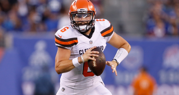 Browns Committed To Starting Tyrod Taylor, Redshirting Baker Mayfield